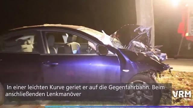 Tödlicher Unfall auf K159 bei Rüsselsheim