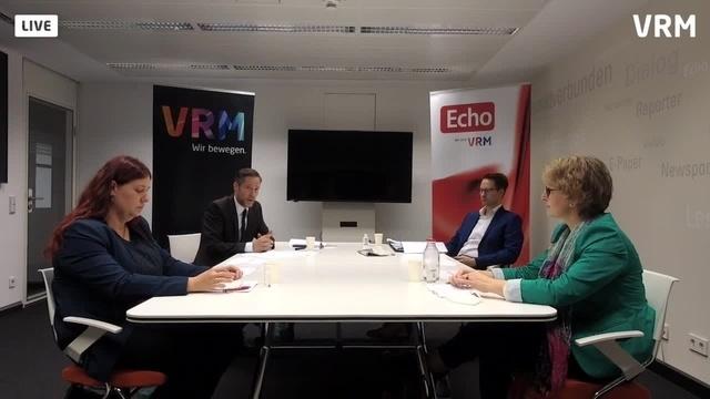 VRM-Podium zur Bürgermeisterwahl in Schaafheim