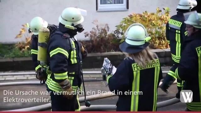 Kellerbrand in Aarbergen-Daisbach