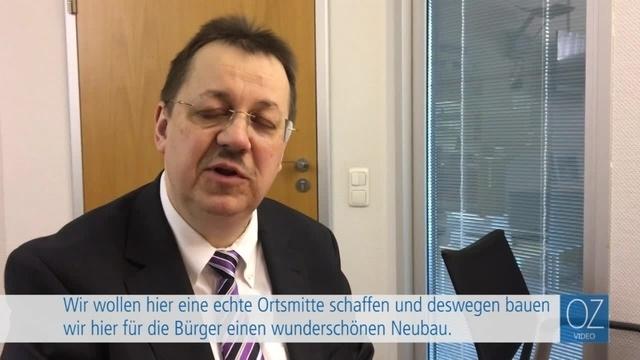 VR-Bank Feldatal: Grundsteinlegung des neuen Wohnhauses