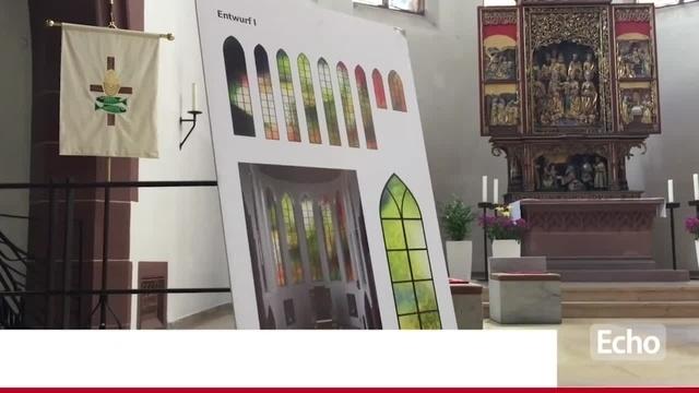 Neue Fenster für die St. Elisabeth-Kirche in Darmstadt