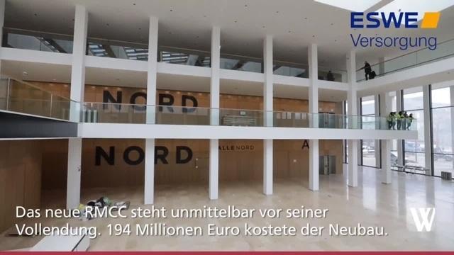 Wiesbaden: Letzte Handgriffe im RMCC