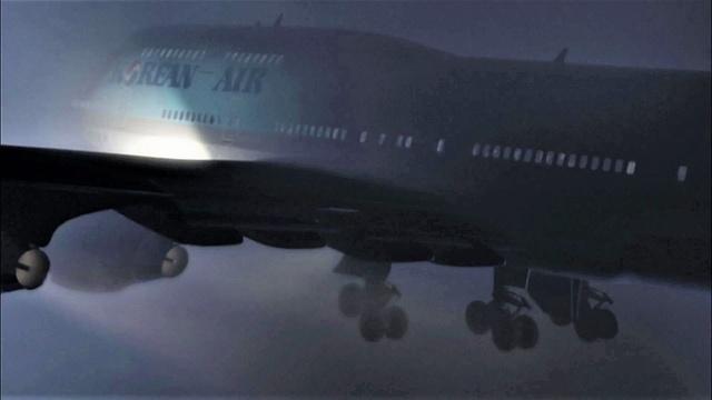 Crash im Landeanflug
