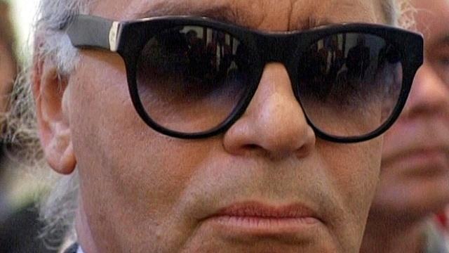 Karl Lagerfeld im Interview (1997)
