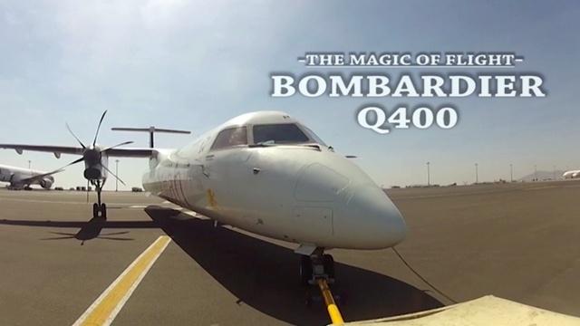 Mit der Bombardier Q400 durch Afrika