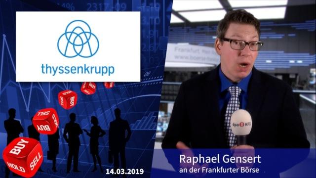 Analyser to go: DZ Bank empfiehlt Thyssenkrupp-Aktien wegen Fusion