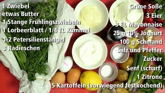 Frisch vom Markt mit Ralph Schüller: Grüne Sauce mit weichem Hühnerei und Bratkartoffeln