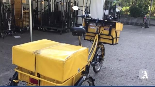 Mainz: Unterwegs mit dem Postboten
