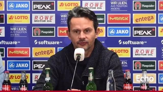 Lilien-Trainer Dirk Schuster vor dem Nachholspiel gegen den 1. FC Kaiserslautern