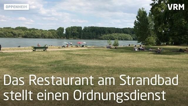 Im Sommer brummt der Betrieb im Oppenheimer Strandbad