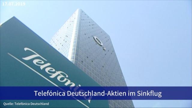 Aktie im Fokus: Telefónica Deutschland-Aktien im Sinkflug