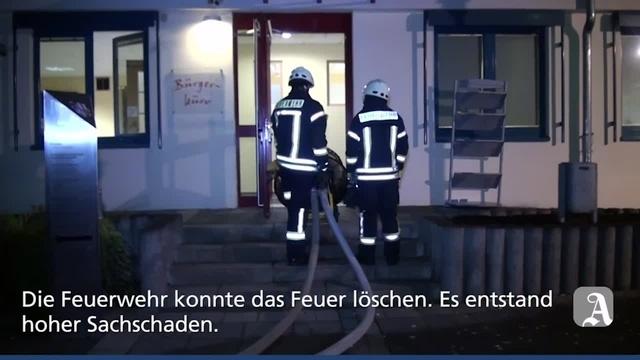 Wörrstadt: Unbekannte sprengen Geldautomat