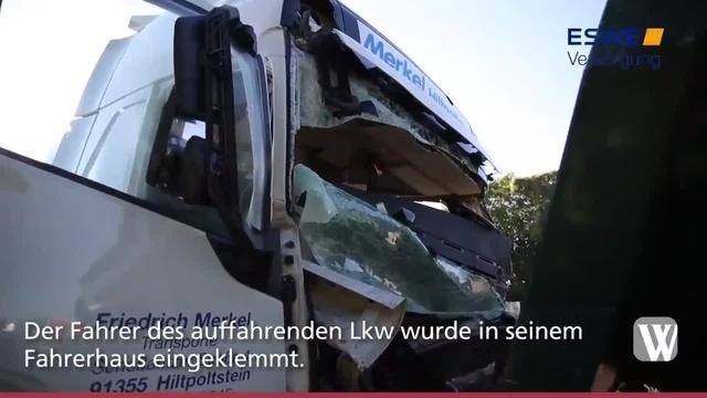 Wiesbaden: Schwerer Unfall auf der A66