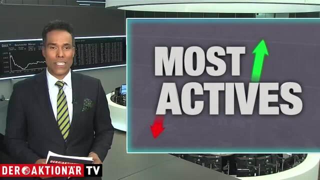 Most Actives: TUI, Deutz, Infineon