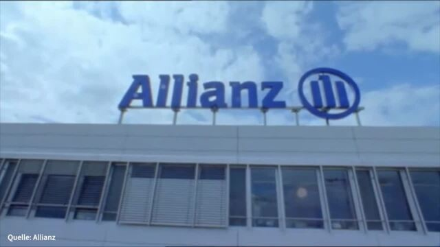 Analyser to go: Allianz heruntergestuft