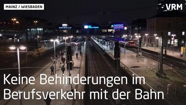 Berufsverkehr nach Sperrung der Theodor-Heuss-Brücke