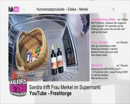 Freshtorge - Sandra trifft Frau Merkel