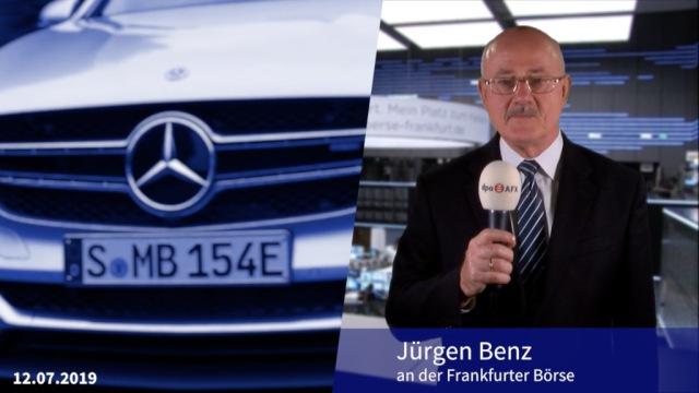 Derber Dämpfer für Daimler - Anleger bleiben gelassen