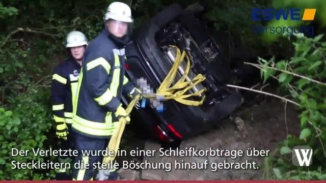 Taunusstein: Unfall auf der L3470 zwischen Wehen und Orlen