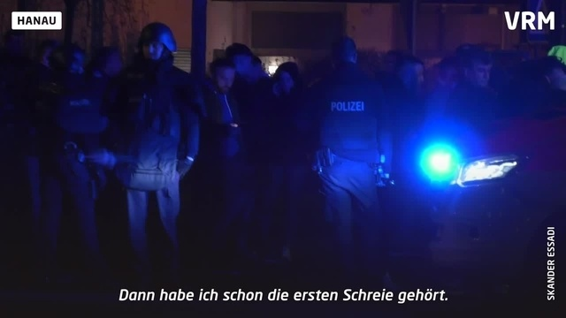 Terrorakt in Hanau: Augenzeugen berichten