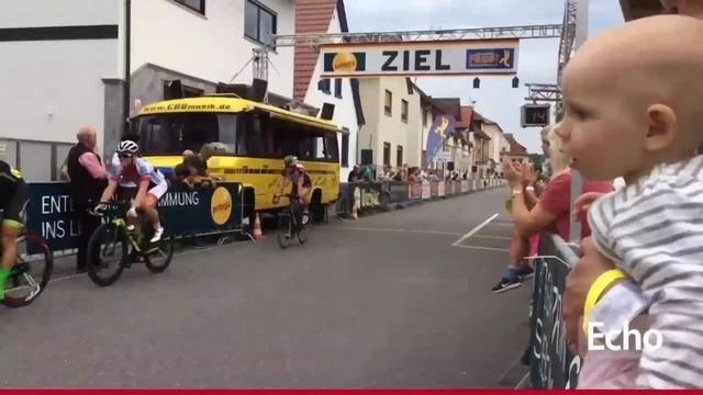 Radrennen in Bürstadt