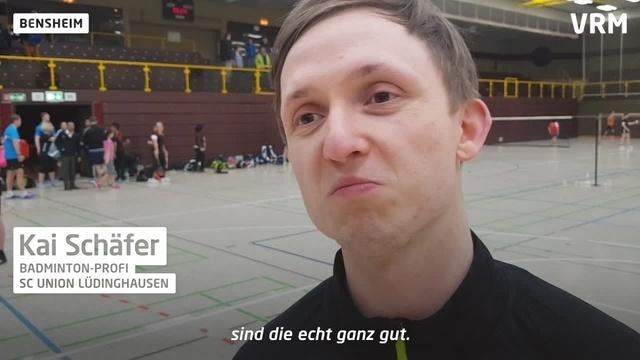 Badminton-Profi Kai Schäfer zu Gast in Bensheim