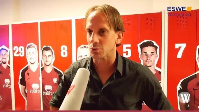 Wiesbaden: Kabinentalk beim SV Wehen Wiesbaden