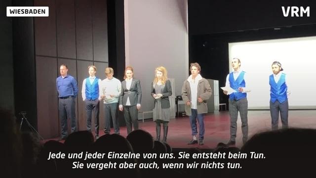Wiesbaden: Schauspieler werben für Europawahl