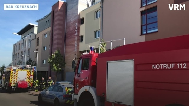 Brand in Seniorenwohnheim in Bad Kreuznach