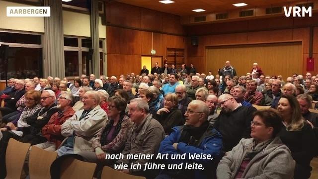Bürgermeisterwahl in Aarbergen