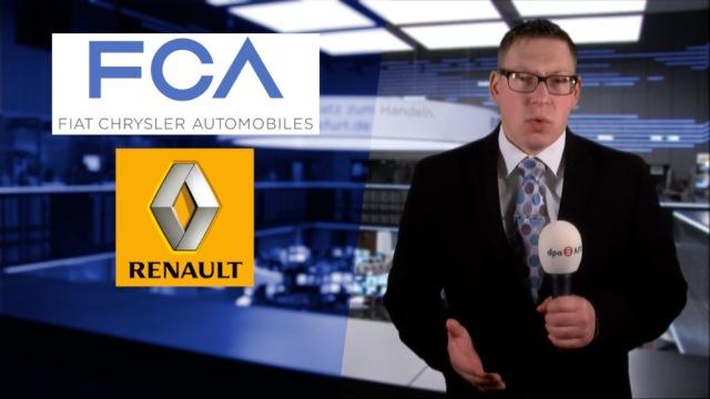 Fusionsphantasien beflügeln Aktien von Renault und Fiat Chrysler