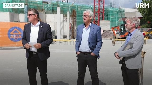 Grundsteinlegung für Neubau am Berufsschulzentrum Nord
