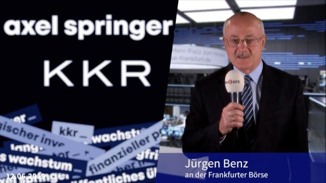 Übernahmeangebot: Axel-Springer-Aktien schießen hoch