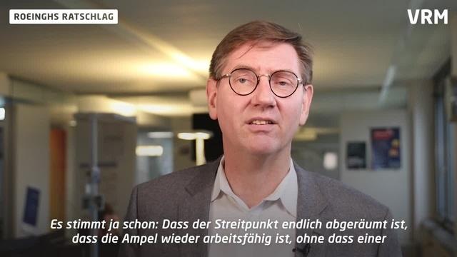 Roeinghs Ratschlag: Ein kleiner Schritt für die Mainzer FDP.