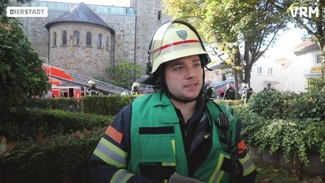 Kirchturmbrand in Bierstadt: Statement der Feuerwehr