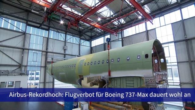 Aktie im Fokus: Airbus auf Rekordhoch - Boeing im Pech