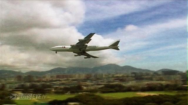 Joe Moser kommentiert Anflüge auf Kai Tak