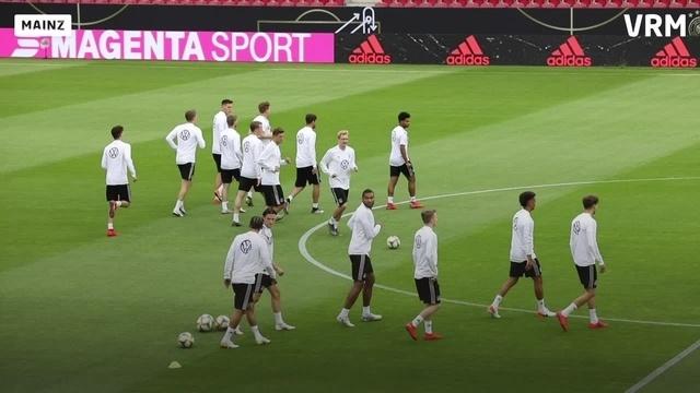 EM-Quali: Abschlusstraining der DFB-Elf in Mainz