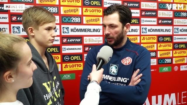 Mainz 05: Nachwuchsreporter interviewen Sandro Schwarz