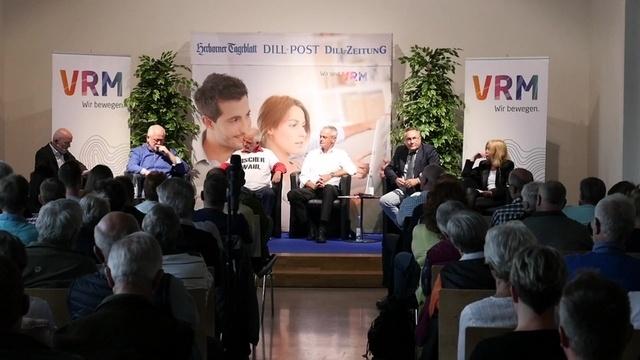 Breitscheider Bürgermeisterkandidaten im Rededuell