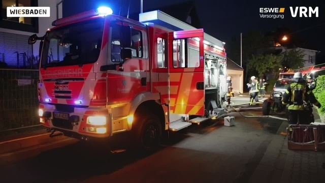 Brand in Igstadt