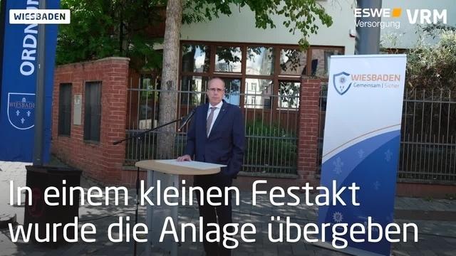 Stadtpolizei nimmt Videoschutzanlagen in Betrieb