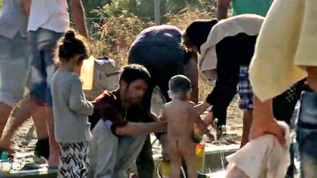Flüchtlingskatastrophe in Griechenland