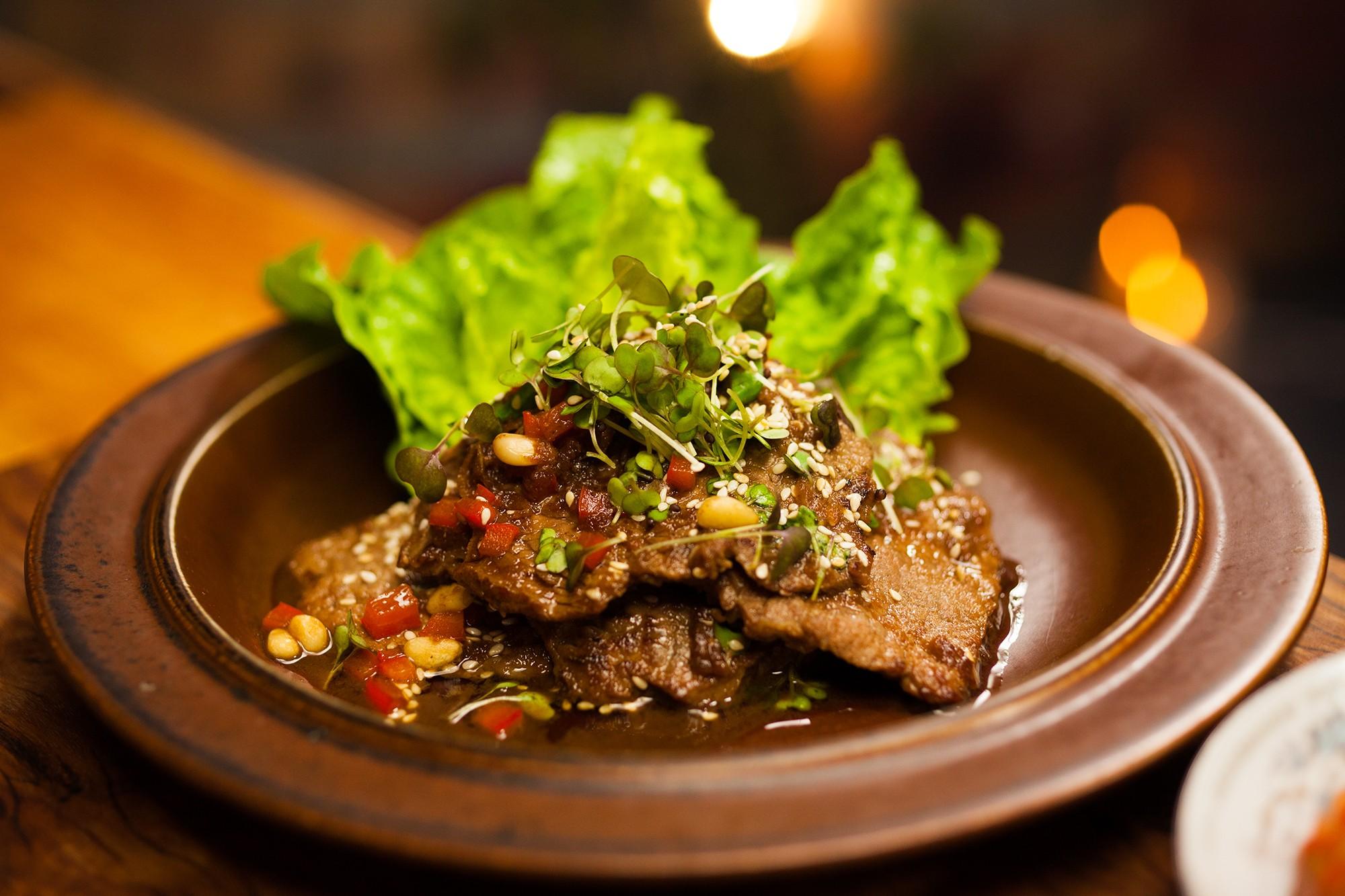 Bulgogi (japanisches Fleischgericht)