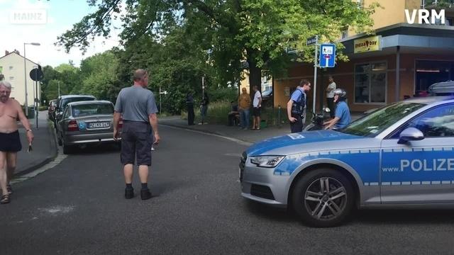 Großer Polizeieinsatz in Mainz