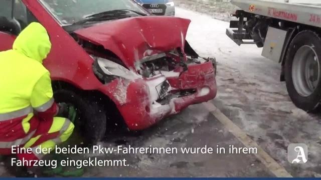 Wörrstadt: Schwerer Unfall auf der L401