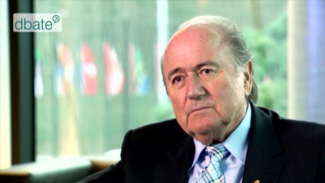 Sepp Blatter im Interview (2007)