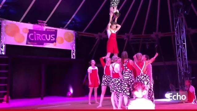 Viertes Internationales Waldoni Circus Festival