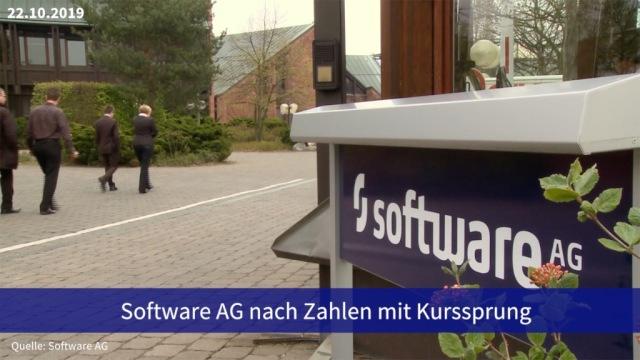 Aktie im Fokus: Software AG nach Zahlen mit Kurssprung