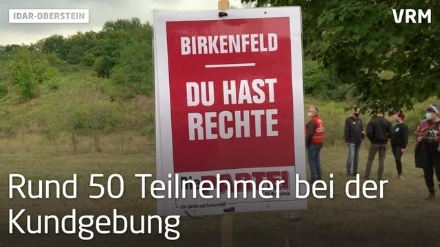 Demo gegen AfD in Idar-Oberstein